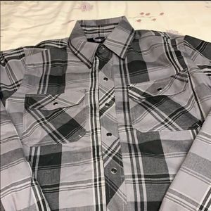 Dickies insulted button up shirt